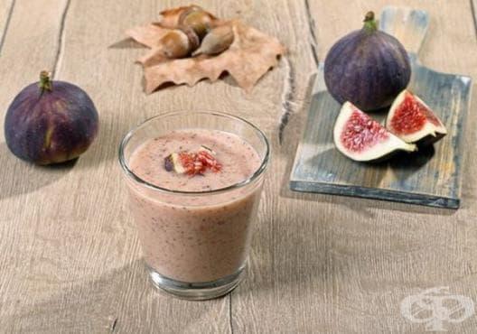 Консумирайте сусамово мляко със смокини против запек - изображение