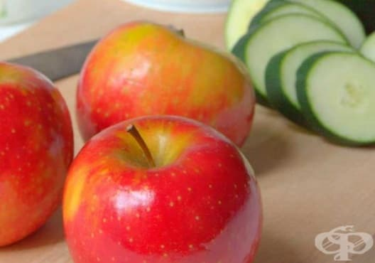 Консумирайте сок от ябълка и краставица срещу камъни в бъбреците - изображение