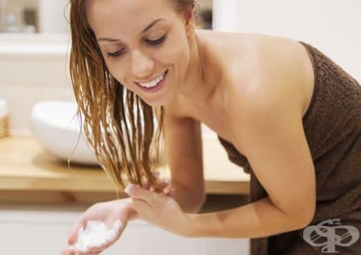 Обезцветете косата си със сода - изображение