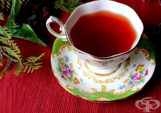 Консумирайте чай от червена боровинка срещу световъртеж - изображение
