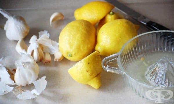Насърчете изгарянето на излишни мазнини с чесън и лимонов сок - изображение