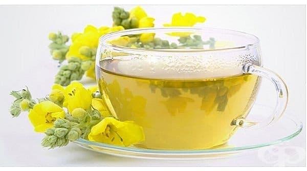 Облекчете настинката и грипа с чай от лопен - изображение