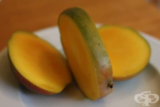 Как да нарежете манго в 3 лесни стъпки - изображение