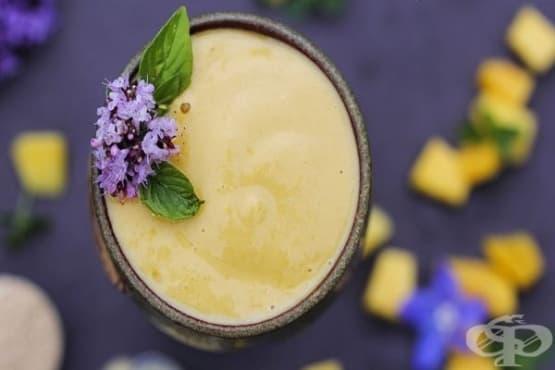 Балансирайте хормоналните нива в организма, като пиете смути от манго и мака - изображение