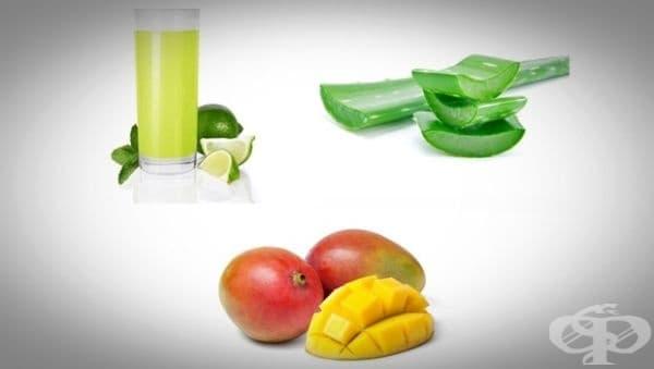 Направете си маска за равномерен тен от манго, алое и лайм - изображение