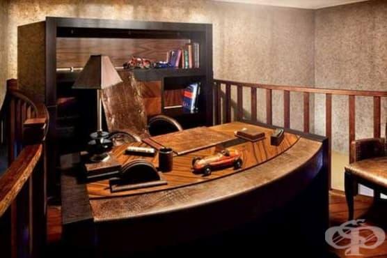 Направете си спрей за полиране на мебели от зехтин, оцет и етерични масла - изображение