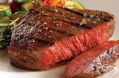 Накиснете месото в солена вода, за да го изчистите от кръвта - изображение