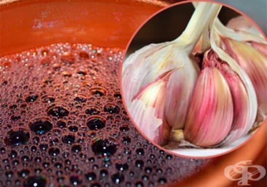 Намалете лошия холестерол с вино и чесън - изображение
