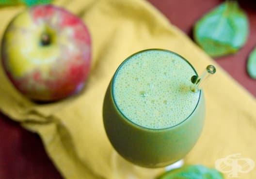Намалете нивата на вреден холестерол с ябълка, спанак и магданоз - изображение