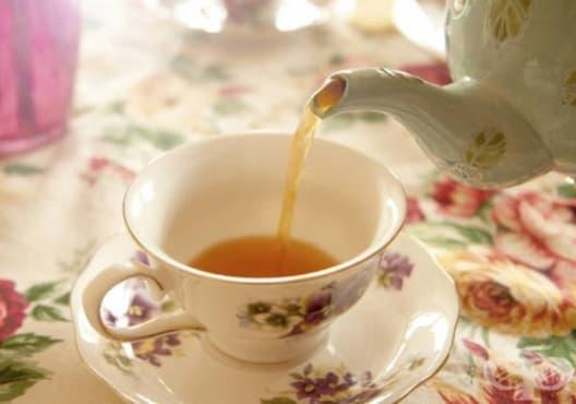Намалете високата температура с чай от лайка, мента и бял равнец - изображение