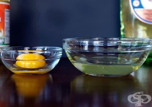 Намалете високата температура с компреси от яйчен белтък - изображение