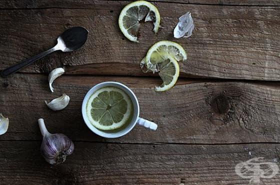 Намалете високото кръвно с чеснов чай - изображение