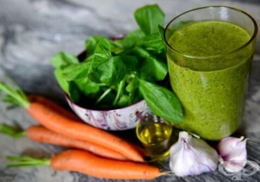 Намалете вредния холестерол с напитка от морков и спанак - изображение
