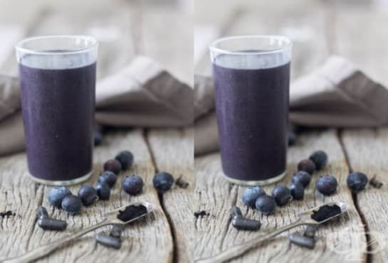 Облекчете подуването на стомаха с напитка от боровинки и активен въглен  - изображение