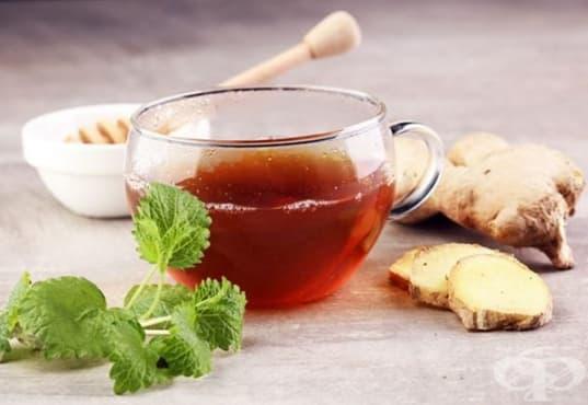 Насърчете отслабването с чай от мента и джинджифил - изображение