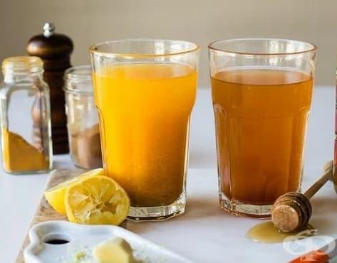 Облекчете синузита с напитка от джинджифил и куркума - изображение