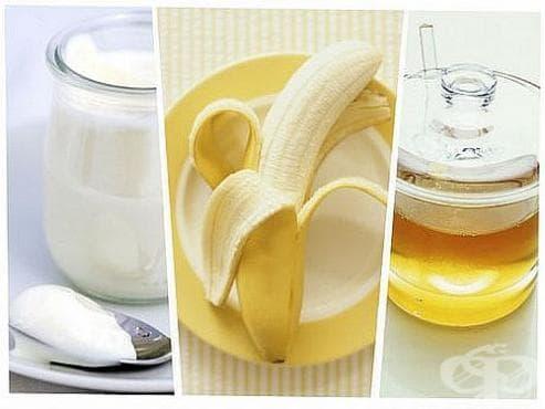 Направете си енергизираща напитка от банан, мед, кисело мляко и овес - изображение