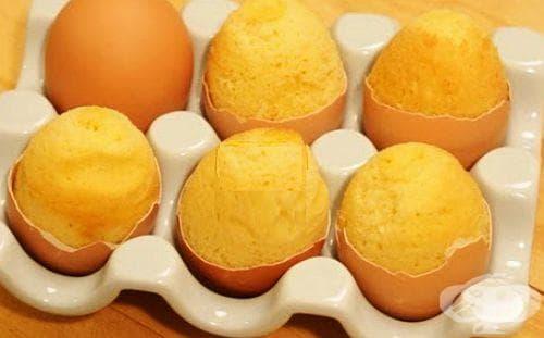 Направете си естествени незалепващи форми за мъфини от яйчни черупки - изображение