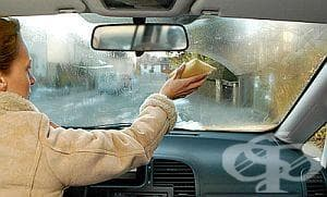Направете си разтвор против запотяване на прозорците - изображение