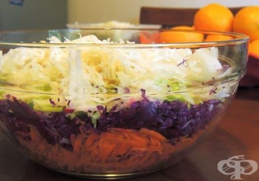 Направете 3-дневно пречистване на организма със салата от зеле, цвекло и моркови - изображение