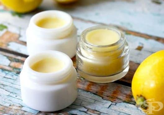 Направете си балсам за устни от лимон - изображение
