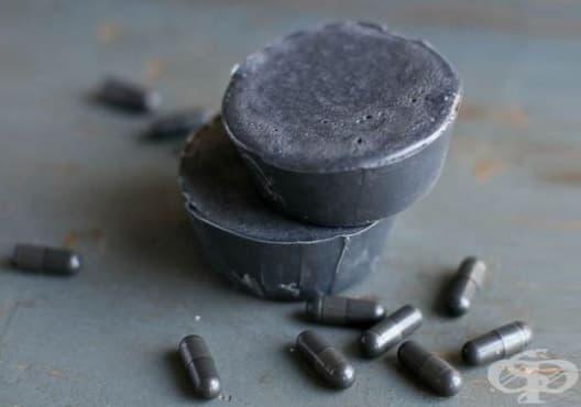 Почистете кожата с детоксикиращ сапун от активен въглен и чаено дърво - изображение