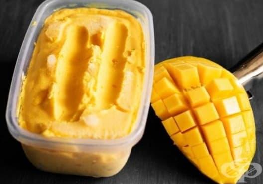 Възстановете сухата кожа с маска от манго и масло - изображение