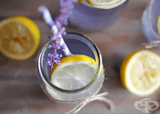 Направете си лавандулова лимонада против стрес и напрежение - изображение