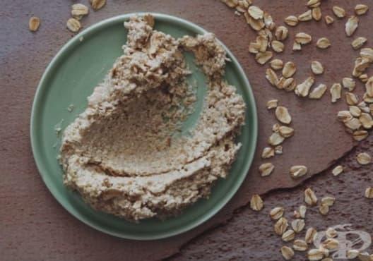 Направете си овлажняваща маска за лице от бадем, масло и овесени ядки - изображение