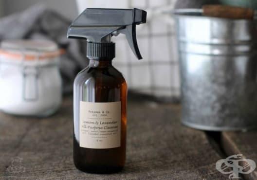 Направете си екологичен препарат за почистване от лимон и лавандула - изображение