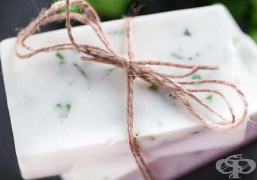 Направете си сапун от лайм и кориандър - изображение