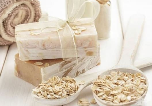 Направете си сапун от мед, глицерин и овесени ядки - изображение