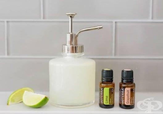 Направете си сапун за ръце от лайм, кокос и грейпфрут - изображение