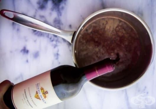 Направете си шоколадово вино, за да се сгреете през зимата - изображение
