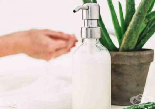 Направете си течен сапун от алое и розова вода - изображение