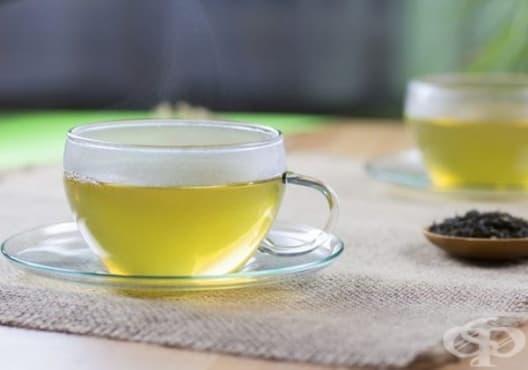 Насърчете кръвообращението със зелен чай - изображение