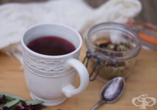 Насърчете имунитета с чай от бъз, портокал и лимонова трева - изображение