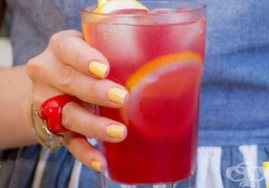 Насърчете имунитета с лимонада от мента и хибискус - изображение