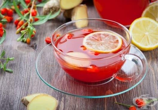 Насърчете имунитета с чай от годжи бери, шипка и копър - изображение