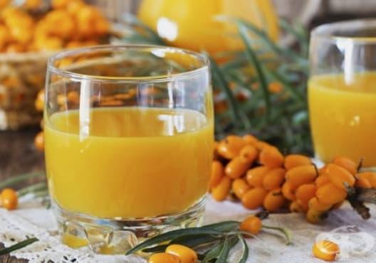 Насърчете имунитета с напитка от морски зърнастец и ябълка - изображение