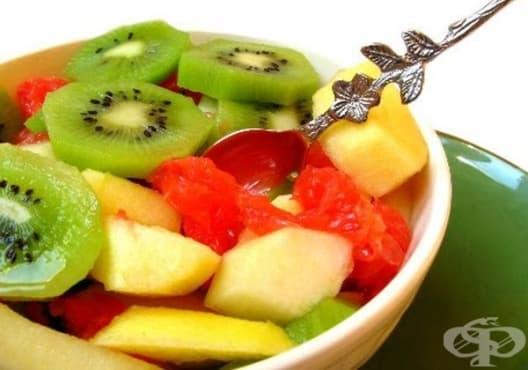 Насърчете имунитета с плодова салата от киви - изображение