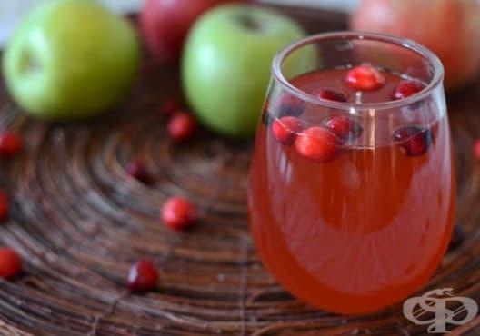 Насърчете имунитета с напитка от ябълка и червена боровинка - изображение