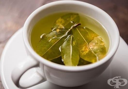 Насърчете изгарянето на излишни мазнини с напитка от зелен чай и дафинов лист - изображение