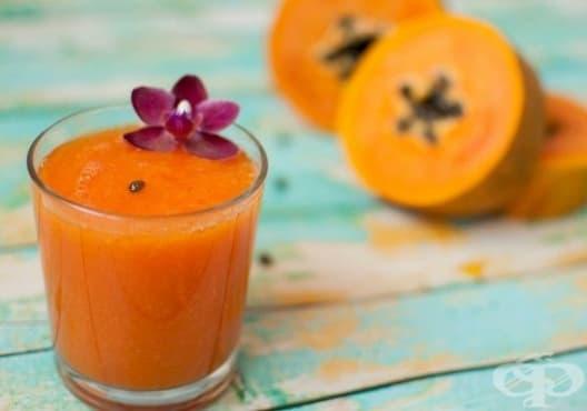 Насърчете изгарянето на излишни мазнини с напитка от лайм, папая, морков и ленено семе - изображение