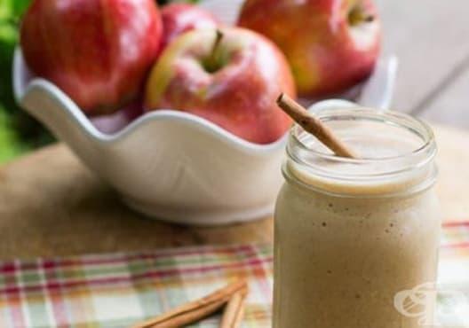 Насърчете изгарянето на излишни мазнини с напитка от ябълка, бадеми и канела - изображение
