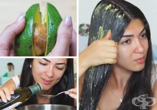 Насърчете растежа на косата с авокадо и зехтин - изображение
