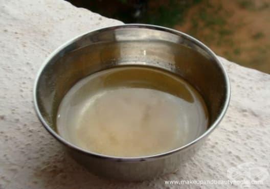 Насърчете растежа на косата с кокосово мляко и сминдух - изображение