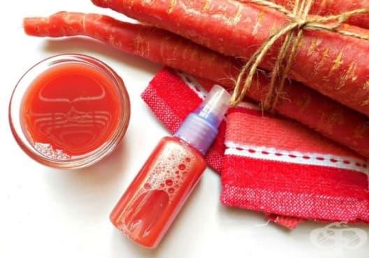Насърчете растежа на косата със спрей от морков и алое вера - изображение