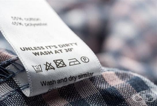 Научете какво значат символите върху етикетите на дрехите ни - изображение