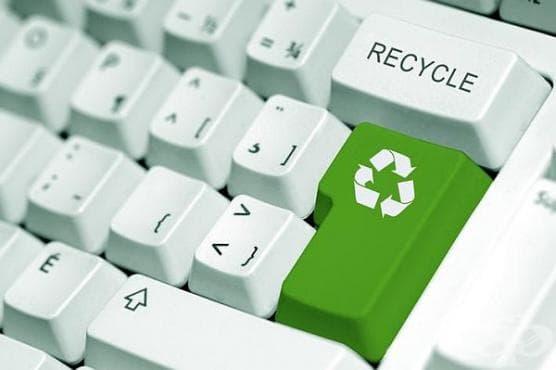 Не изхвърляйте електронните уреди в коша за боклук - изображение